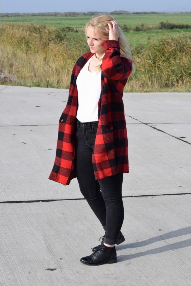 Karierter Mantel-Basics-Swanted-Outfit-Mango