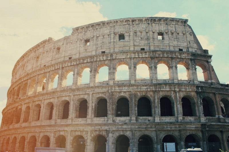 Italien-Rom-Europa-Kolosseum-Swanted