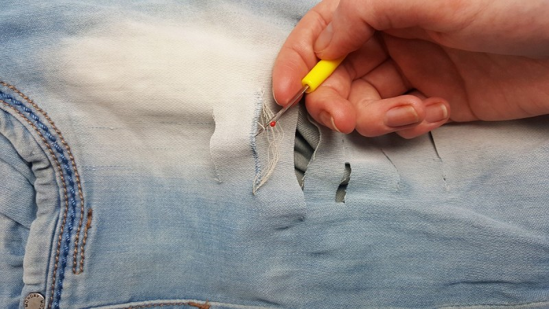 Jeans-DIY-Destroyed Jeans-selber machen-Tutorial