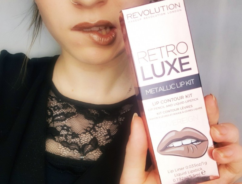 Retro Luxe Metallic Lip Kit-Makeup Revolution-Swanted-Blog-Beauty-Make up-Lippenstift