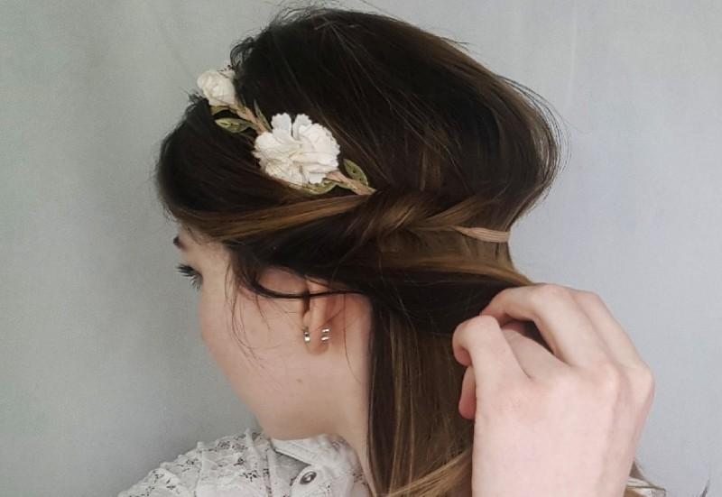 Haare-Schnelle Frisur-5 Minuten-Beauty-Schnell und einfach-Blog-Swanted