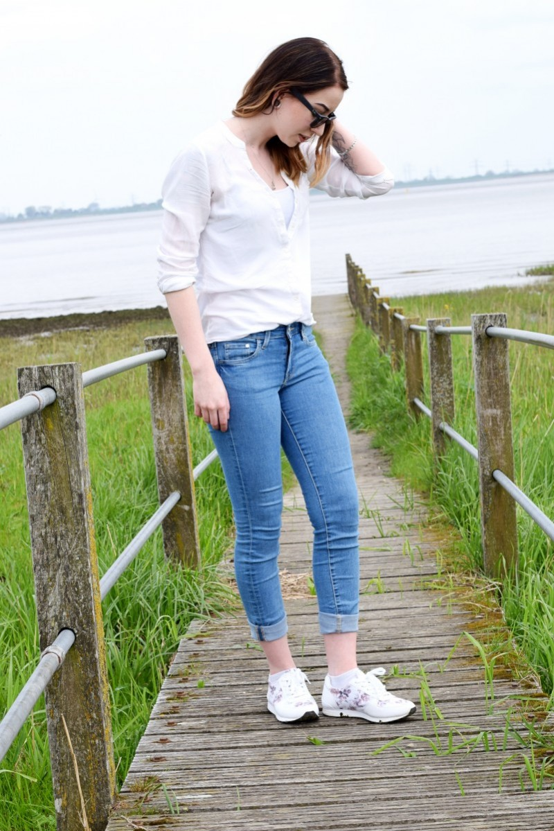 Schuhe-Footway-Blume-Outfit-Ootd-Fashion-Hemd-Swanted-Blog-Sea