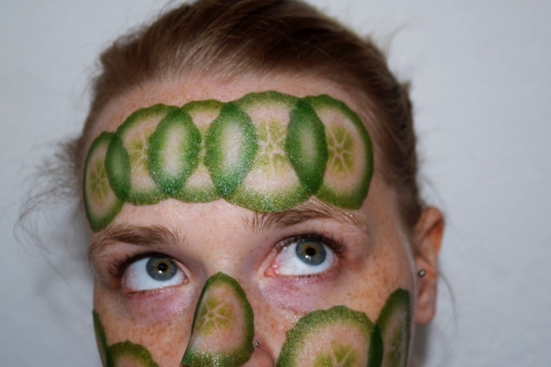 Slice Mask-Cucumber-Kocostar-Gurkenmaske-Beauty-Skin care-Blog-Swanted