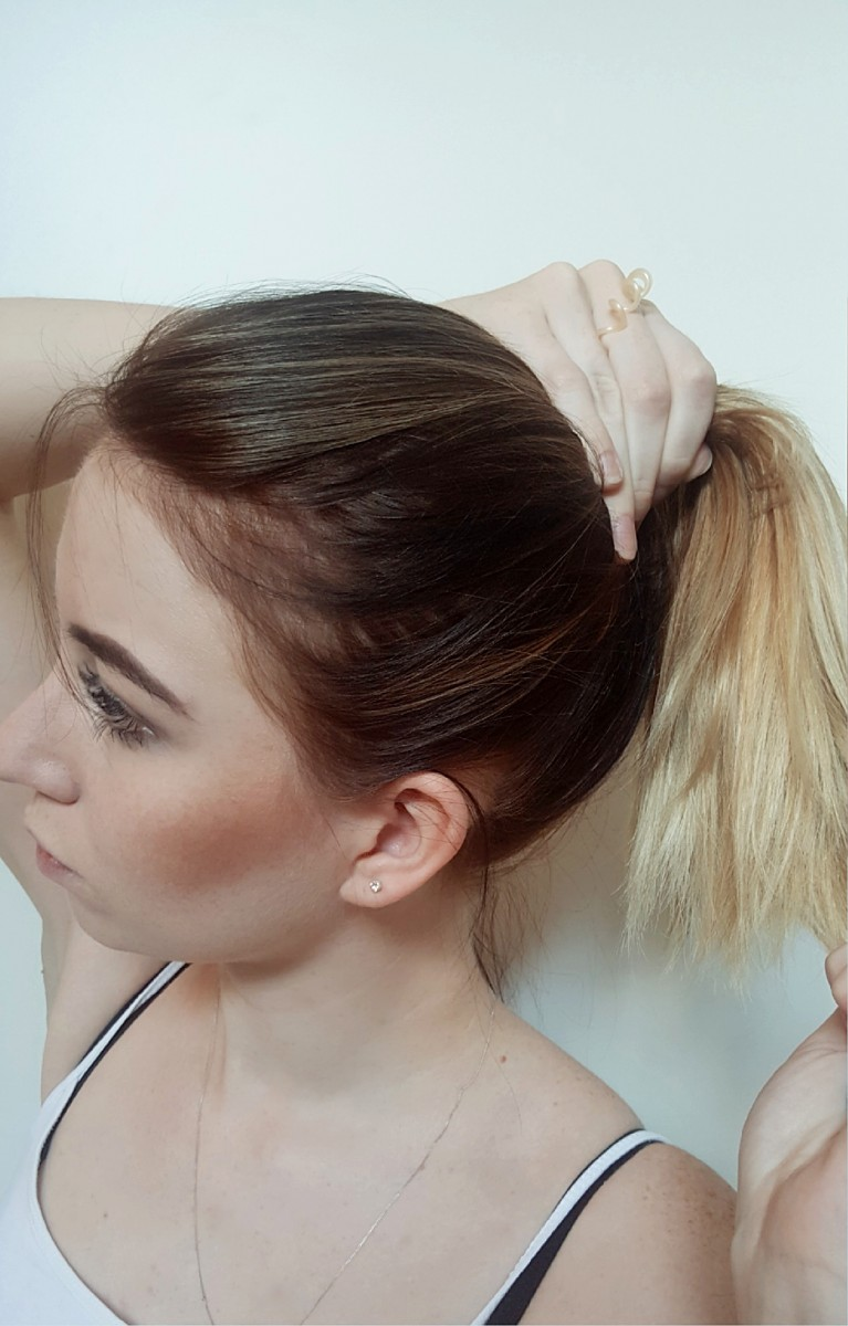 Haarband-Fake Pony-Haare abschneiden-Hair tutorial-hairgoals-hairstyle-swanted-blog-beauty-how to