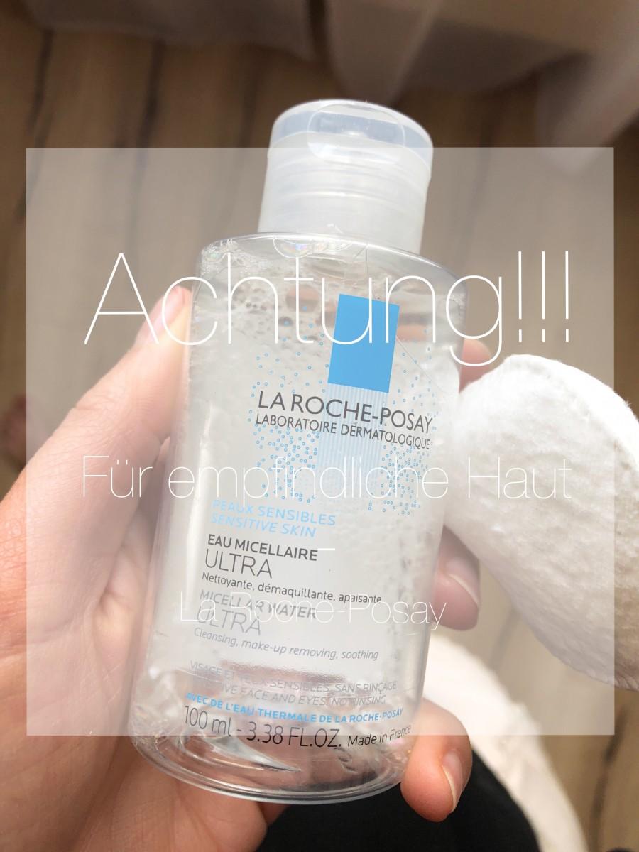 La Roche-Posay-empfindliche Haut-Reinigungsfluid-Beauty-Swanted-Reinigungswasser-Make-up