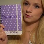 Kleiner Taschenkalender für Blogger