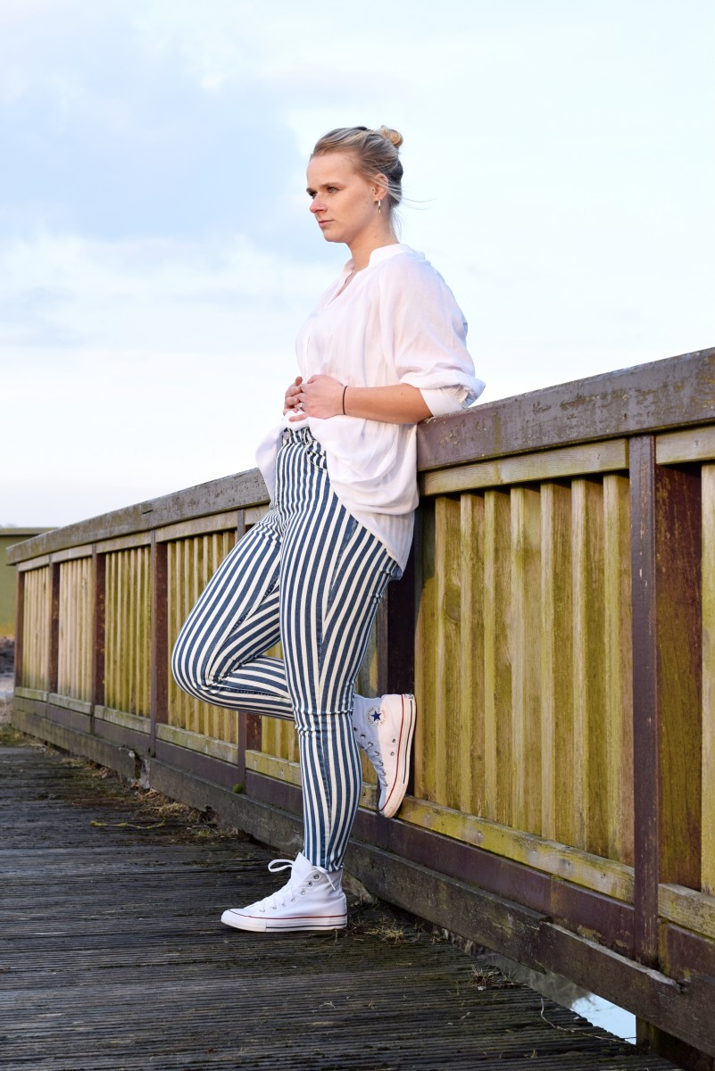 Outfit-niemals aufgeben-fashion-ootd-snipes-blogpost-Stripes-converse