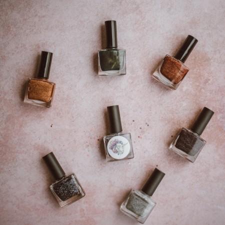 nail polish-nagellack-metallic-feiertage-christmas-silvester